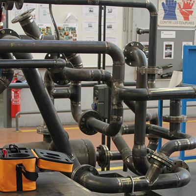 Calculer les débits d'une ligne de tuyauterie